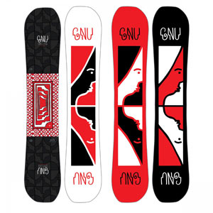 snowboard gnu space case 2019
