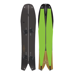 snowboard k2 split bean package 2019